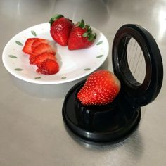 Baking Tip: Use an egg slicer to quickly slice strawberries.