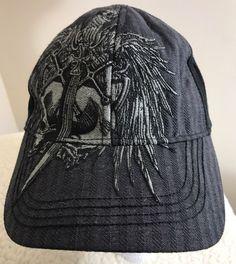 d3ec0ec4a7f Miami Ink One size Fits Most Tattoo Black W White Hat  Cap 2010  Tekflex