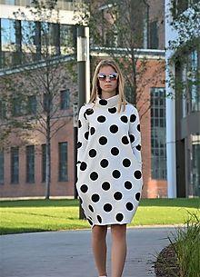 Teplákové balónové šaty/tunika Muriel Coffee / ajkadizajn - SAShE.sk - Handmade Šaty Polka Dot Top, Black, Tops, Women, Fashion, Moda, Black People, Fashion Styles, Fashion Illustrations
