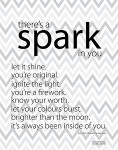 """Free Katy Perry """"Firework"""" Inspired Printable by pen n paper flowers, via Flickr"""