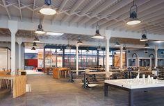 The McClintock/Gunne Sax Adaptive Reuse Adaptive Reuse, Gunne Sax, Office Designs, Second Floor, Ground Floor, Industrial, Flooring, Space, Architecture