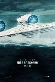 STAR TREK INTO DARKNESS - New Enterprise Poster!