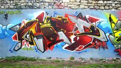 Word by Takt  Vandalog – A Street Art Blog » Wild Style Wednesday!