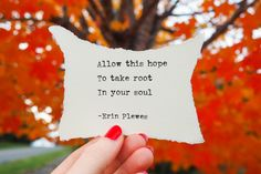 """Allow This Hope"" Encouraging Words Artwork Short Inspirational Poems, Inspirational Artwork, Daily Home Workout, At Home Workouts, Discover Quotes, Determination Quotes, Nature Artwork, Motivational Quotes For Working Out, Pretty Words"