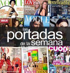 Las #portadas de la semana #Revistas Vogue, Art Pop, Magazine Covers, Pop Art, En Vogue