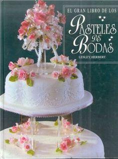 el gran libro de los pasteles de bodas. Diario elegante de la boda con gradas diseño tortam.Rassmatrivaetsya, el fortalecimiento de la torta en las columnas y estantes , ejemplos de diseño