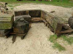 Pförten, Brody, Sarkophag, Zusammenlegung der Bruchstücke, Vorbereitung der Restaurierung