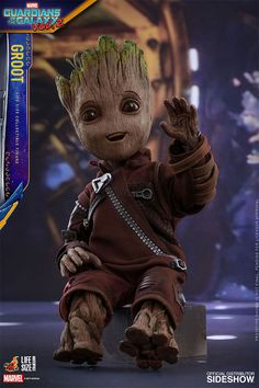Life-Size Baby Groot Figure Is The Grootiest Groot Figure Of Them All