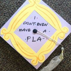 Friends #graduation cap ideas