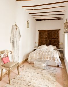 bedroom riad Marrakech | Picture and copyright by Anthony Harrison of Houseshoot.com