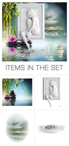 """""""Zen"""" by grozdana-v ❤ liked on Polyvore featuring art"""
