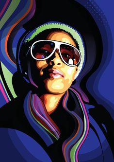 Make vector portraits from photos - Photoshop & Illustrator Tutorial - Digital Arts
