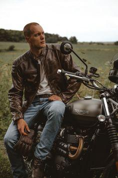 Hot Men, Hot Guys, Rock Style Men, Motorbikes, Gentleman, Biker, Motorcycles, Wheels, British