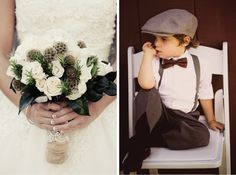 Rustic-Chic Barn Wedding - Belle The Magazine Perfect Wedding, Dream Wedding, Wedding Attire, Wedding Dresses, Ring Bearer Outfit, Winter Wedding Flowers, Rustic Bouquet, Sophisticated Bride, Rustic Chic