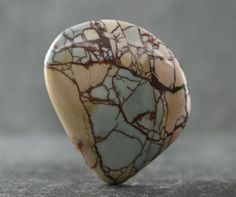 Dead Camel Jasper Designer Cabochon, New Find of Colorful Picture Jasper, Freeform Collector Gemstone Cabochon, Jewelry Focal Stone, Pendant by StonyMountainGems on Etsy