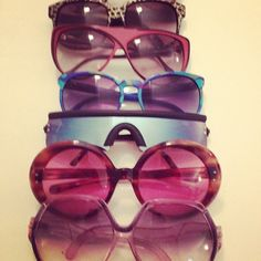 A range of authentic #shades from the 1970s through the 1980s... classics!