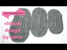 TUTO SEMELLE FACILE RIGIDE CHAUSSON BEBE CROCHET TOUTES TAILLES Baby all size shoe sole to crochet - YouTube