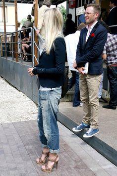 weekends were made for boyfriend jeans.