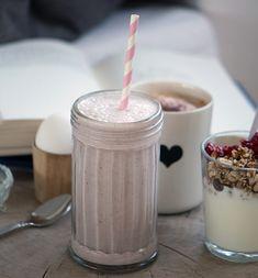Granatæble smoothie - 1 stort glas