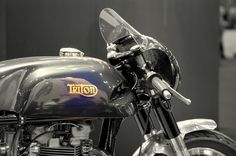 #moto, #motorbike, #caferacer, #racer, #summer, #motorcycle, #twin, #cylinders, #heart, #motor, #fast, #speed, #photography, #triton