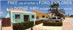 FREE use of a Ford Explorer or Dodge Van included with your rental Canuku House  $149/ night pool is across the street  No mention of security deposit, cleaning fees nor water and electric use