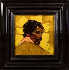 Shamu  - Encre et Acrylique sous Perspex - 53 x 53 cm (hors cadre)