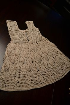 Crochet baby dress by ClassicDeisgns on Etsy, $200.00