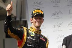 Romain Grosjean Hongrie
