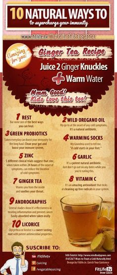 10 Natural ways to boost immune system