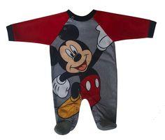 #disney mickey mouse #baby boys fleece blanket sleeper - (size 3-6 months) from $8.99