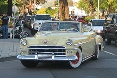 1950 Chrysler Windsor Convertible...Brought to you by #House of #Insurance #Eugene, #Oregon