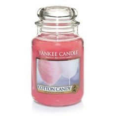 "Yankee Candle ""Cotton Candy"" Summer 2015"