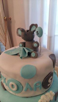 Birthday cake elephant!