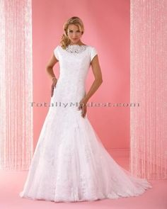 Norene Totally Modest Wedding Dresses, Prom and Bridesmaids