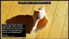 Come out of your shell on #SocialMedia...