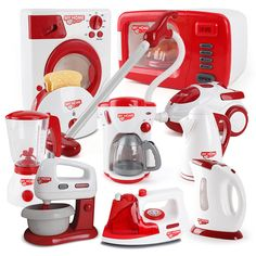 Appliances Pretend Play Kitchen Children Toys Coffee Machine Toaster Blender Vacuum Cleaner Cooker Toys For Kid Toys.Household Appliances Pretend Play Kitchen Children Toys Coffee Machine Toaster Blender Vacuum Cleaner Cooker Toys For Kid Toys. Kids Toy Kitchen, Pretend Play Kitchen, Toys For Girls, Kids Toys, Washing Machine In Kitchen, Kitchen Machine, Baby Doll Toys, Princess Toys, Kids Christmas