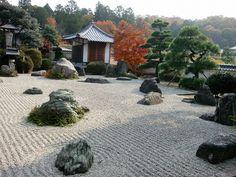 05. Сад камней в храме Рёандзи.