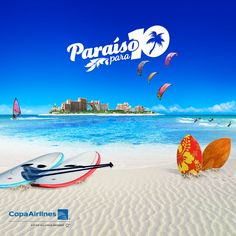 Let's go to paradise! Register and you could win a FREE trip for 10 people with @copaairlines to Nassau, Bahamas. #ParaisoCopa