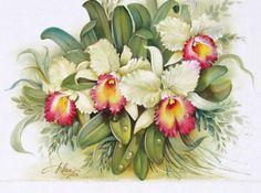 oleo sobre tela orquideas - Pesquisa Google