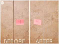The Best Way to Clean Grout · Jillee Cleaning Rota, Cleaning Day, Cleaning Recipes, Diy Cleaning Products, Cleaning Solutions, Cleaning Hacks, Cleaning With Peroxide, Clean Grout, Grout Cleaner