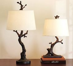 Delightful Pottery Barn Tree Table Lamp Look 4 Less!