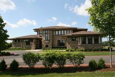 Prairie Home - traditional - exterior - chicago - Marshall Architects