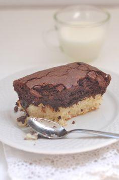 something sweet to a cup of coffee - Шоколадно-кокосовые брауниз