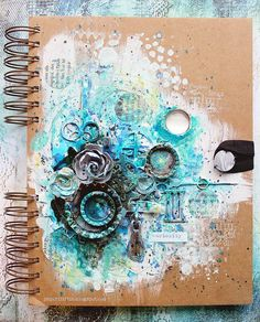 Mixed Media Place: What are you feeling? {vol.4} - Riikka