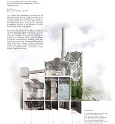 MSD M.Arch S2/16 - Ariani Dewi Anwar. Independent Thesis -The Uncanny Ruin and the Industrial Sublime. Supervisor: Professor Alan Pert.