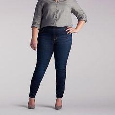 Lee Women's Dream Jeans - Harmony Legging - Plus Size::16W:P