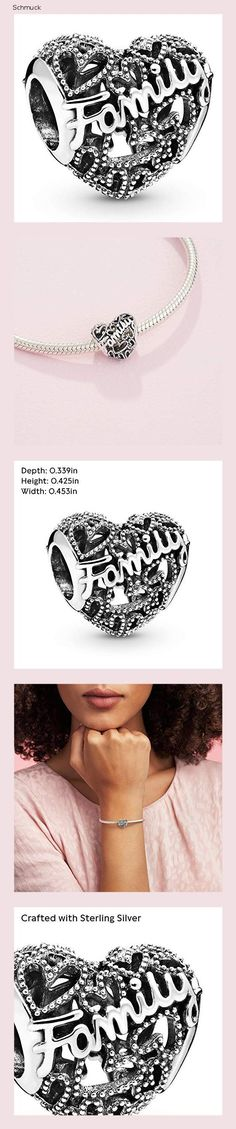 Pandora -Bead Charms 925 Sterlingsilber 798571C00 - 14nh Charms, Pandora Beads, Women, Silver, Schmuck, Woman