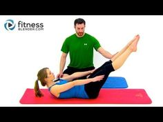 Pilates Abs and Obliques, Workout - 26 Minute Online Pilates Class, FitnessBlender.com