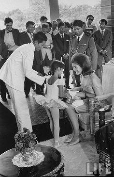 Mrs. JFK in Cambodia 1967 | by manhhai
