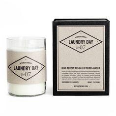 Laundry Day: Lily / Lavender / Lemongrass. Upwined Candles: www.upwinedcandles.com
